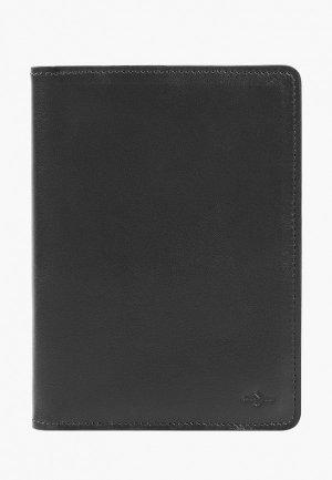 Обложка для паспорта Igor York. Цвет: черный