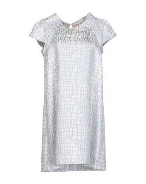 Короткое платье CLOTILDE. Цвет: небесно-голубой