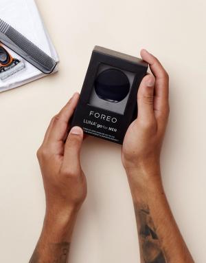 Компактная щетка для лица мужчин FOREO LUNA-Черный