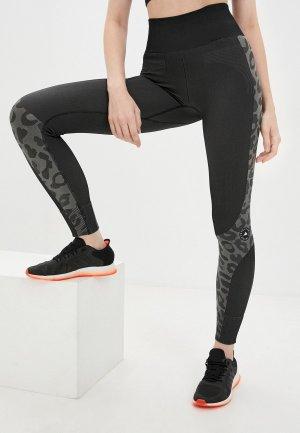 Тайтсы adidas by Stella McCartney TRUEPUR SL TI. Цвет: черный