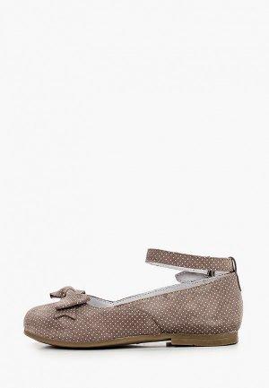 Туфли Elegami. Цвет: бежевый