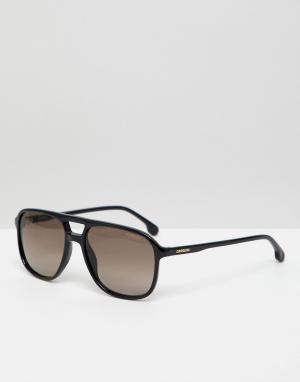 Черные квадратные солнцезащитные очки -Черный Carrera