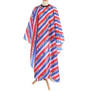 Парикмахерская шаль с полосатым и текстовым принтом SHEIN
