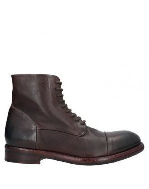 Полусапоги и высокие ботинки JP/DAVID. Цвет: темно-коричневый