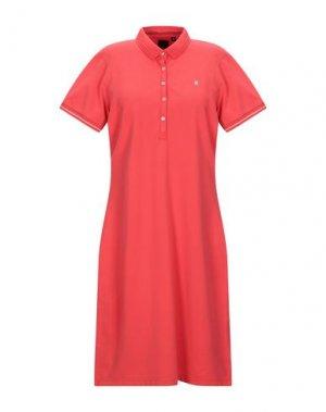 Короткое платье GAASTRA. Цвет: красный