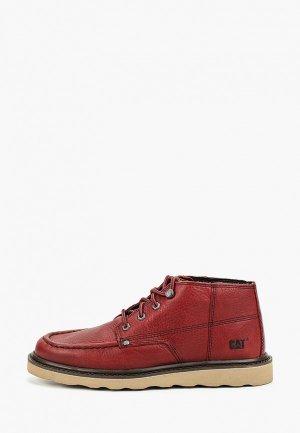 Ботинки Caterpillar LARSEN. Цвет: красный
