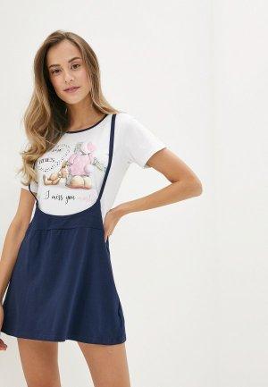 Платье домашнее Astron. Цвет: разноцветный