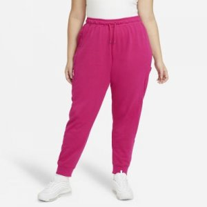 Женские брюки Nike Air (большие размеры) - Розовый