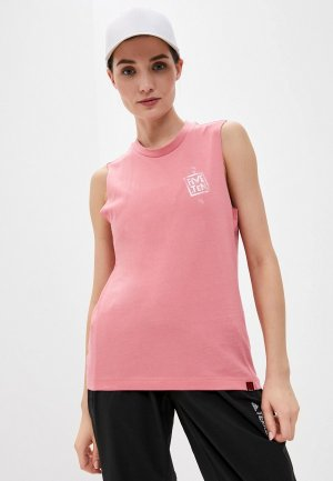 Майка adidas W 5.10 STCAT TK. Цвет: розовый
