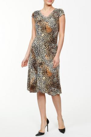 Платье NAKAD. Цвет: золото