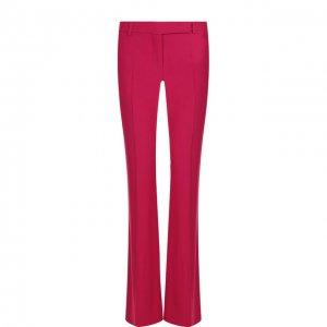 Однотонные расклешенные брюки со стрелками Alexander McQueen. Цвет: фиолетовый