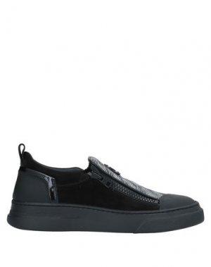Низкие кеды и кроссовки BRUNO BORDESE. Цвет: черный