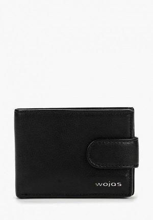 Кошелек Wojas. Цвет: черный
