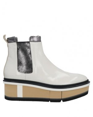 Полусапоги и высокие ботинки FABI. Цвет: белый