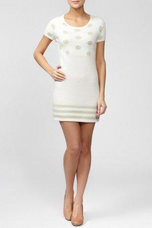 Платье GINGER+SOUL. Цвет: белый