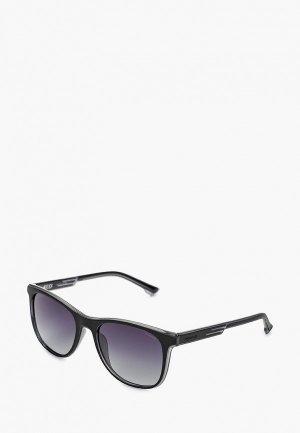 Очки солнцезащитные Police 960-1EPP. Цвет: черный
