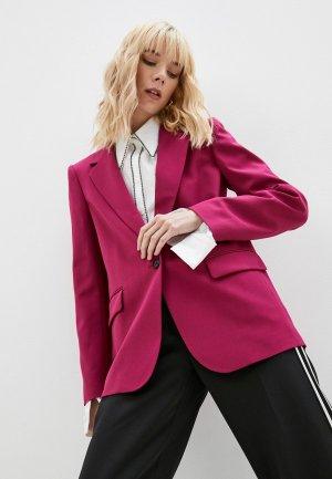 Пиджак Karl Lagerfeld. Цвет: розовый