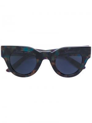 Солнцезащитные очки Maud Sun Buddies. Цвет: чёрный