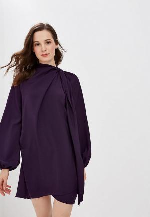 Платье Mango - LILI. Цвет: фиолетовый