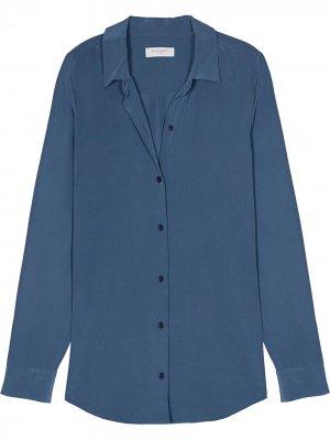 Рубашка с длинными рукавами Equipment. Цвет: синий
