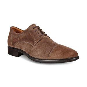 Туфли CITYTRAY ECCO. Цвет: коричневый