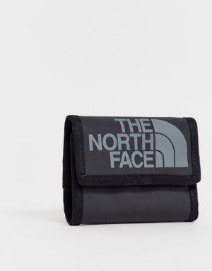 Черный бумажник Base Camp The North Face