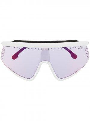 Лыжные солнцезащитные очки Hyperfit Carrera. Цвет: белый