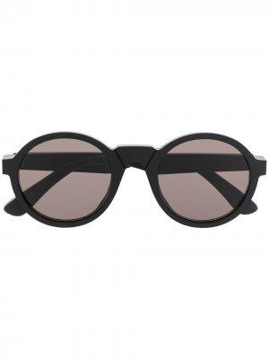 Солнцезащитные очки Raw из коллаборации с MYKITA Maison Margiela. Цвет: черный