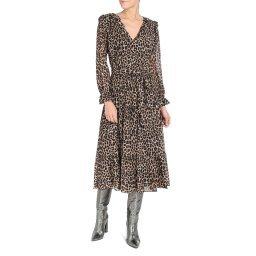 Платье MF98Z7ACDC леопардовый MICHAEL KORS