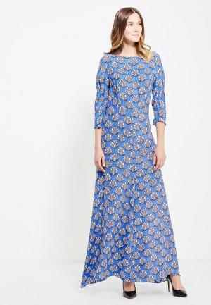 Платье Ли-лу. Цвет: синий