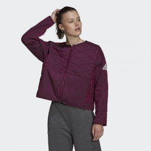 Утепленная куртка Z.N.E. adidas. Цвет: none