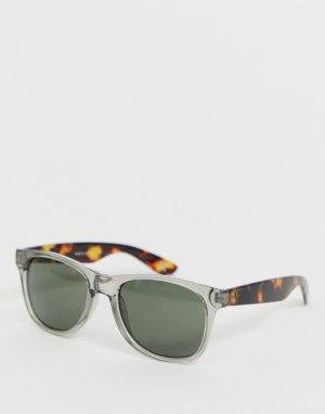 Солнцезащитные очки в прозрачной оправе Vans