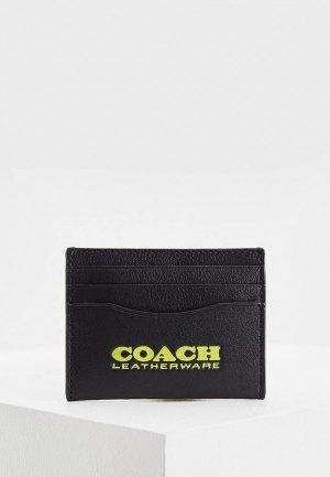 Кредитница Coach. Цвет: черный