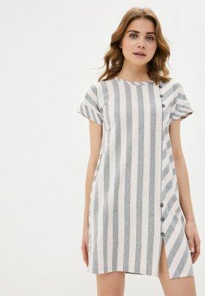 Платье Агапэ. Цвет: серый
