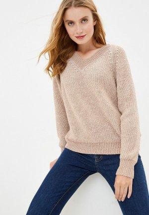 Пуловер Rinascimento. Цвет: коричневый