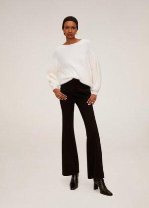 Расклешенные брюки - Elephant Mango. Цвет: черный