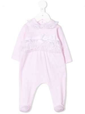 Пижамный комбинезон с воротником Питер Пэн Aletta. Цвет: розовый