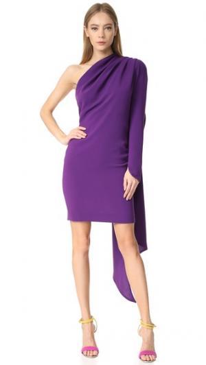 Платье-платок Gareth Pugh. Цвет: фиолетовый