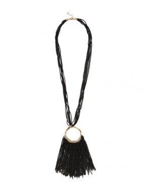 Ожерелье KENNETH JAY LANE. Цвет: черный