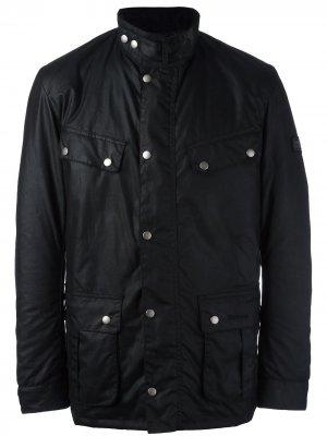 Куртка Duke Barbour. Цвет: черный