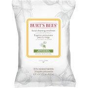 Влажные салфетки для снятия макияжа чувствительной кожи Sensitive Facial Wipe Burts Bees