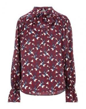 Pубашка B.YU. Цвет: красно-коричневый