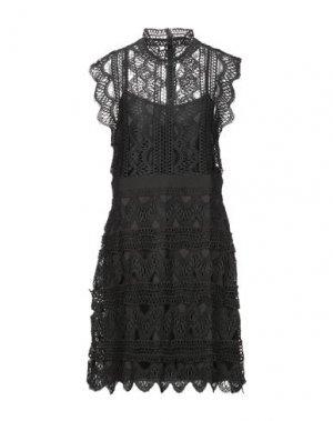 Платье миди DRY LAKE.. Цвет: черный