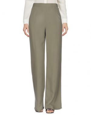 Повседневные брюки EQUIPMENT. Цвет: зеленый-милитари