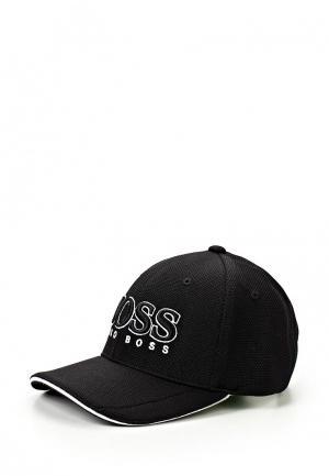 Бейсболка Boss Hugo. Цвет: черный