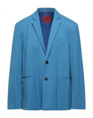 Пиджак 424 FOURTWOFOUR. Цвет: лазурный