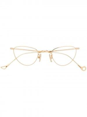 Солнцезащитные очки Bovary Eyepetizer. Цвет: золотистый