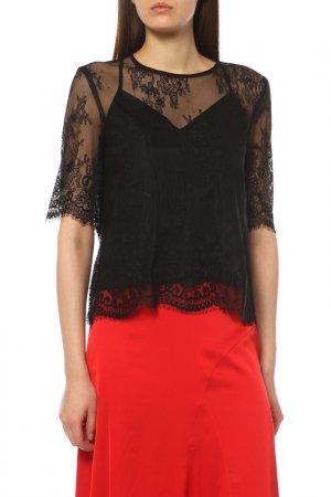 Блузка CONTE ELEGANT. Цвет: черный