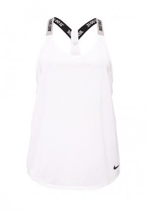 Майка спортивная Nike Womens Dry Training Tank. Цвет: белый