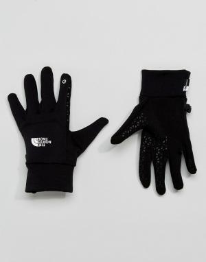 Черные перчатки для сенсорных гаджетов The North Face. Цвет: черный